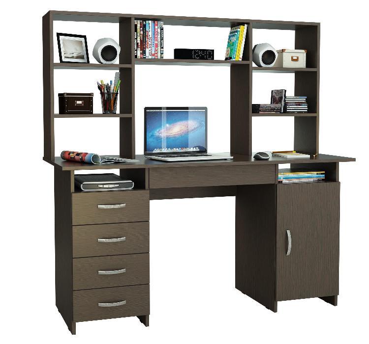 Письменный стол Милан-7Я с надставкой письменный стол васко соло 021