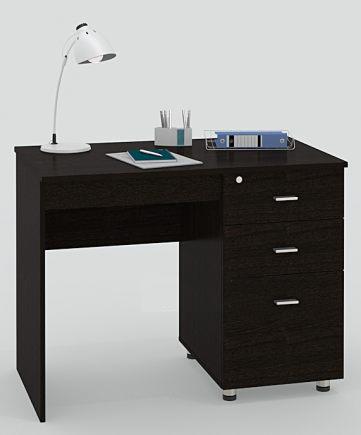 Письменный стол ПС 40-11 письменный стол двухтумбовый пс 40 07 венге шатура столы и стулья