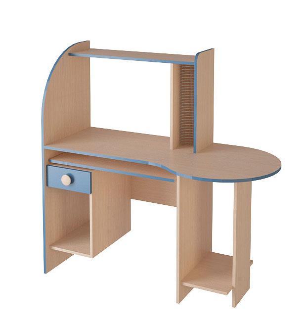 Стол компьютерный №22 (серия МДК 26) компьютерный стол кс 20 30