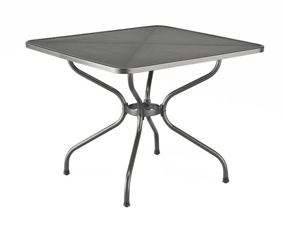 Стол металлический 90x90 (сетка) Kettler