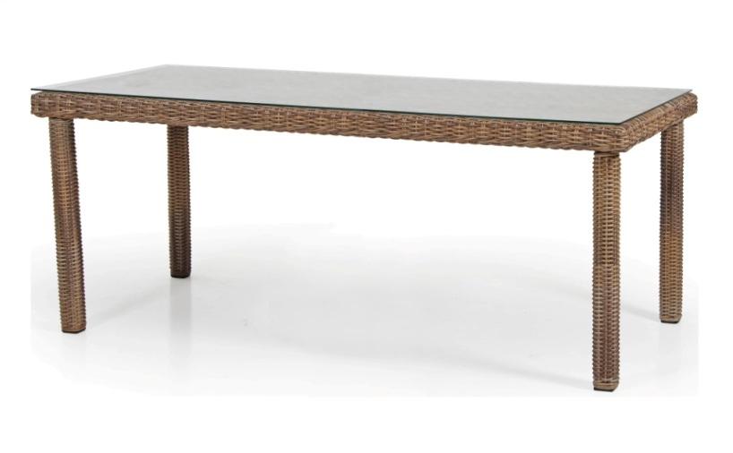 Плетеный стол Catherine