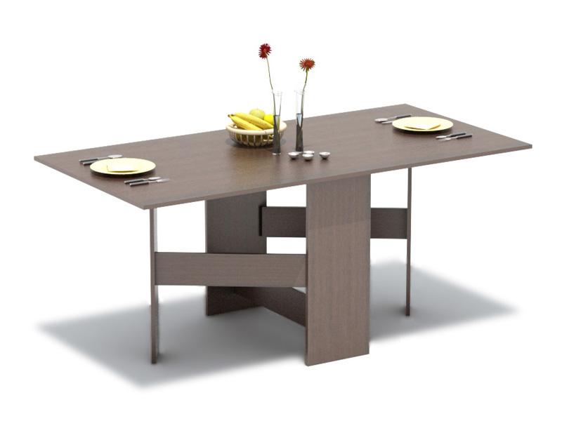Стол-книжка Престиж-1Обеденные столы<br>Размер: 1700x740x850<br><br>Материалы: ЛДСП, кромка ПВХ<br>Полный размер (ДхВхГ): 1700x740x850<br>Дополнительные опции: В сложенном состоянии: 320х740х850<br>Примечание: Доставляется в разобранном виде<br>Изготовление и доставка: 8-10 дней<br>Условия доставки: Бесплатная по Москве до подъезда<br>Условие оплаты: Оплата наличными при получении товара<br>Подъем на грузовом лифте: 300 руб<br>Подъем без лифта: 150 руб./этаж, включая первый<br>Сборка: 1000 руб.<br>Гарантия: 12 месяцев<br>Производство: Россия<br>Производитель: Баронс Групп