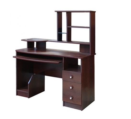 Стол компьютерный СК-002Компьютерные столы<br>Размер: 1200х600 В1500<br><br>Материалы: ЛДСП, кромка ПВХ<br>Полный размер (ДхВхГ): 1200х1420х600<br>Доступны другие размеры: Нет<br>Примечание: Доставляется в разобранном виде<br>Изготовление и доставка: 8-10 дней<br>Условия доставки: Бесплатная по Москве до подъезда<br>Условие оплаты: Оплата наличными при получении товара<br>Доставка по МО (за пределами МКАД): 30 руб./км<br>Доставка в пределах ТТК: Доставка в центр Москвы осуществляется ночью, с 22.00 до 6.00 утра<br>Подъем на лифте: 300 руб.<br>Подъем без лифта: 150 руб./этаж<br>Сборка: 1000 руб.<br>Гарантия: 12 месяцев<br>Производство: Россия<br>Производитель: ТЕКО