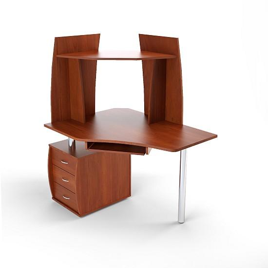 Стол компьютерный угловой с надставкой ПС 04.12.C + ПБ 01.00 семена кл евера в с пб