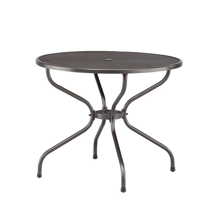 Стол круглый-металлический 90 (сетка) Kettler