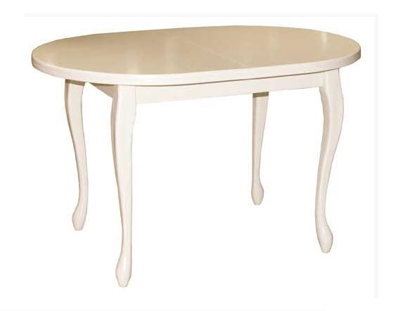 Стол обеденный E/4N М глянецОбеденные столы<br>Размер: 120(150)х80 В75<br><br>Материалы: Массив Бука, 100% глянец<br>Полный размер: 120(150)х80 В75<br>Вес товара (кг): 31,2<br>Цвет: Бежевый, белый, коричневый<br>Примечание: Доставляется в разобранном виде<br>Условия доставки: Бесплатная по Москве до подъезда<br>Условие оплаты: Оплата наличными при получении товара<br>Подъем на лифте: 500 руб.<br>Гарантия: 12 месяцев<br>Производство: Сербия