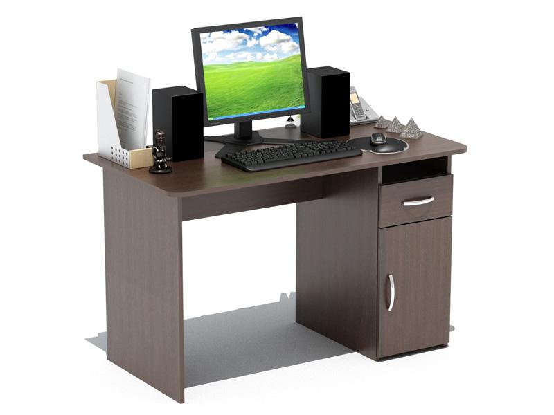 Стол Престиж-120 c дверцейКомпьютерные столы<br>Размер: 1200x630 В740<br><br>Материалы: ЛДСП, кромка ПВХ<br>Полный размер: 1200x630 В740<br>Доступны другие размеры: Нет<br>Примечание: Доставляется в разобранном виде<br>Изготовление и доставка: 8-10 дней<br>Условия доставки: Бесплатная по Москве до подъезда<br>Условие оплаты: Оплата наличными при получении товара<br>Подъем на грузовом лифте: 300 руб<br>Подъем без лифта: 150 руб./этаж, включая первый<br>Сборка: 1000 руб.<br>Гарантия: 12 месяцев<br>Производство: Россия<br>Производитель: Баронс Групп