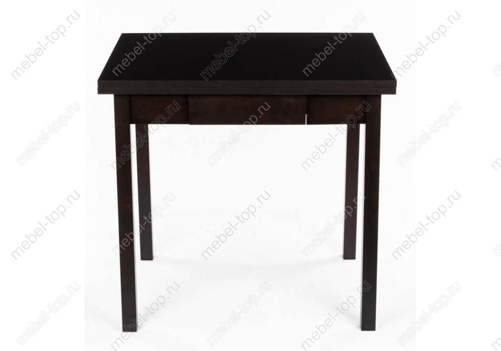 Стол раскладной MarkОбеденные столы<br>Размер: 60/120х80х76<br><br>Артикул: 1233<br>Материалы: Массив бука, МДФ покрытый шпоном<br>Полный размер (ДхГхВ): 60/120х80х76<br>Вес товара (кг): 24,2<br>Цвет: Венге<br>Изготовление и доставка: 1-3 дня<br>Условия доставки: Бесплатная по Москве до подъезда<br>Условие оплаты: Оплата наличными при получении товара<br>Доставка по МО (за пределами МКАД): 30 руб./км<br>Подъем на лифте: 300 руб.<br>Производство: Малайзия<br>Производитель: Woodville