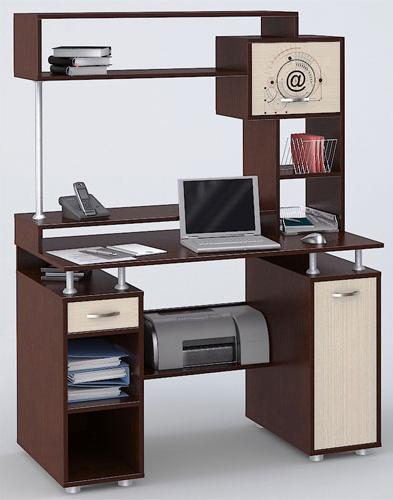 Компьютерный стол СК-5 Fortran с рисунком компьютерный стол кс 20 30
