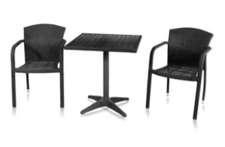 Комплект садовой мебели 2+1 T-159B Y-95
