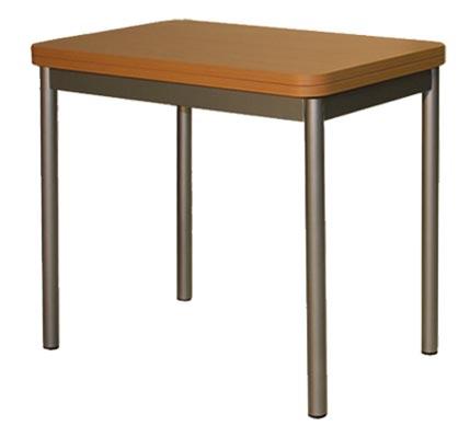 Стол ТР260/Z260 раскладнойОбеденные столы<br>Размер: 50(100)х77 В75<br><br>Материалы: ЛДСП, кромка ПВХ<br>Каркас: Металлический<br>Полный размер: 50(100)х77 В75<br>Вес товара (кг): 29,5<br>Цвет: Бук<br>Примечание: Доставляется в разобранном виде<br>Изготовление и доставка: 2-3 дня<br>Условия доставки: Бесплатная по Москве до подъезда<br>Условие оплаты: Оплата наличными при получении товара<br>Подъем на лифте: 300 руб.<br>Гарантия: 12 месяцев<br>Производство: Россия, г. Красноярск<br>Производитель: Командор