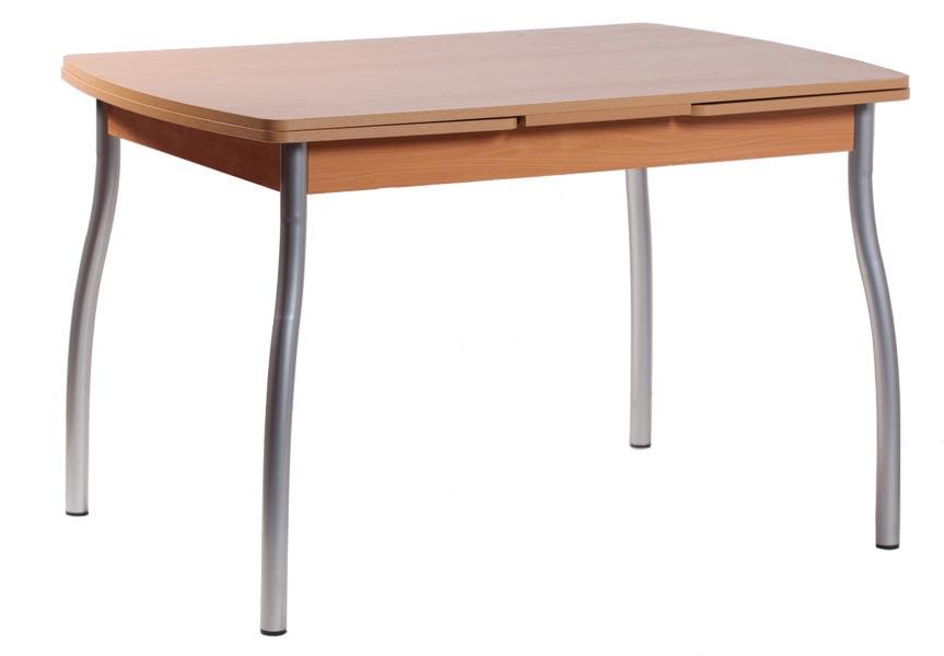 Стол ТР300/Z300 раскладнойОбеденные столы<br>Размер: 120(200)х80 В75<br><br>Материалы: ЛДСП, кромка ПВХ<br>Каркас: Металлический<br>Полный размер: 120(200)х80 В75<br>Вес товара (кг): 25<br>Цвет: Вишня, Бук, Венге<br>Примечание: Доставляется в разобранном виде<br>Изготовление и доставка: 2-3 дня<br>Условия доставки: Бесплатная по Москве до подъезда<br>Условие оплаты: Оплата наличными при получении товара<br>Подъем на лифте: 300 руб.<br>Гарантия: 12 месяцев<br>Производство: Россия, г. Красноярск<br>Производитель: Командор