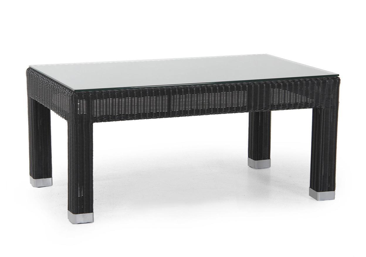 Плетеный стол Forum black 116660 44 116710ln black
