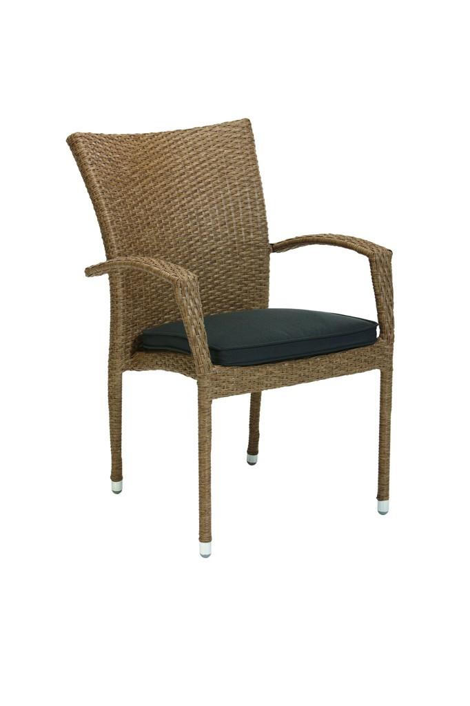 Стул с подлокотниками Medoc Kettler стул с подлокотниками касабланка серый