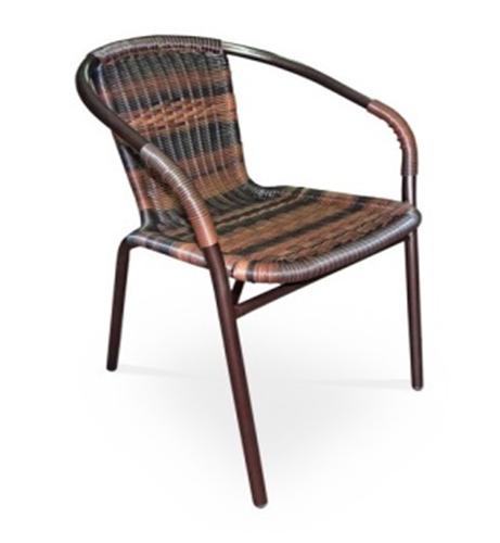 Стул ротанг TLH-037BПлетеная мебель из искусственного ротанга<br>размер: 57х54 В74<br><br>Артикул: TLH-037B<br>Материалы: Искусственный ротанг<br>Каркас: Труба: сталь D25<br>Полный размер: 57х54 В74<br>Цвет: Орех<br>Изготовление и доставка: 2-3 дня<br>Условия доставки: Бесплатная по Москве до подъезда<br>Условие оплаты: Оплата наличными при получении товара<br>Производитель: Афина Мебель