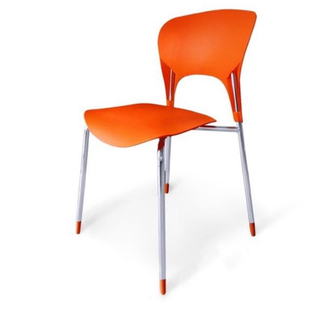 Стул Tera SHF-003-OПластиковая мебель<br><br><br>Артикул: SHF-003-O<br>Материалы: Сидение полипропилен<br>Каркас: Хромированная сталь<br>Полный размер: 51,5х50 В80<br>Вес товара (кг): 2,9<br>Цвет: Orange, red<br>Изготовление и доставка: 2-3 дня<br>Условия доставки: Бесплатная по Москве до подъезда<br>Условие оплаты: Оплата наличными при получении товара<br>Производство: Китай<br>Производитель: Афина Мебель