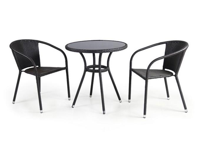 Комплект садовой мебели 2+1 T282A Y-137C 2PCS