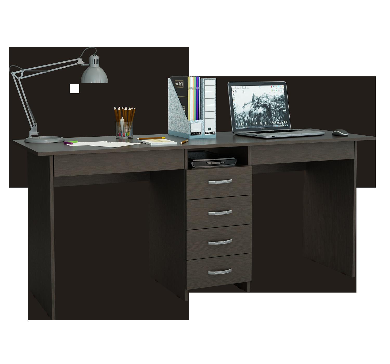 Письменный стол 2-х местный Тандем 2Я стол bleeker 2 шт 56 х 44 х 61 см