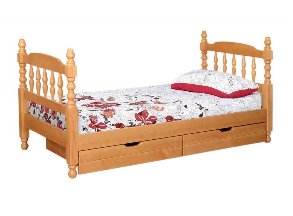 Купить Точеная Одноярусная Кровать
