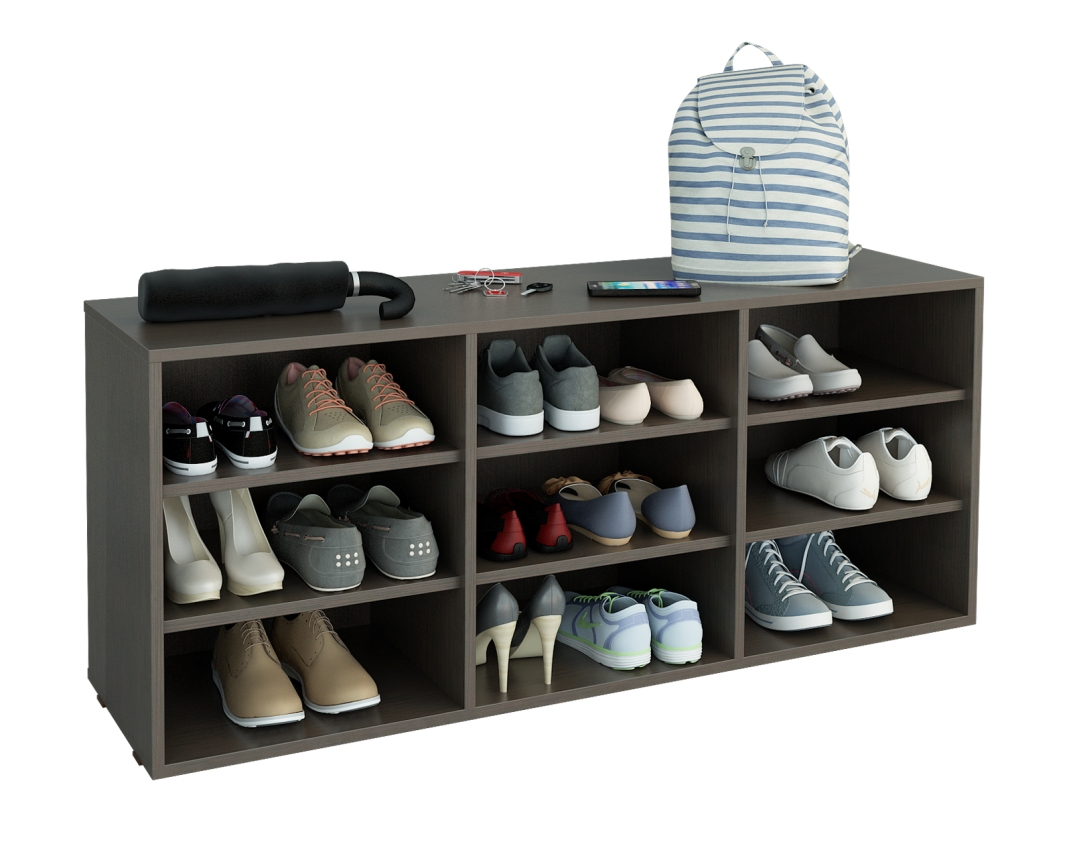 Тумба для обуви Лана ПОЛ-3ПТумбы для обуви<br>размер: 1264х350 В532<br><br>Материалы: ЛДСП, кромка ПВХ<br>Полный размер (ДхГхВ): 1264х350х532<br>Вес товара (кг): 29,5<br>Примечание: Дверцы возможно установить дополнительно, в стоимость не входят<br>Изготовление и доставка: 5-7 дней<br>Количество упаковок: 1 шт.<br>Условия доставки: Бесплатная по Москве до подъезда<br>Условие оплаты: Оплата наличными при получении товара<br>Доставка по МО (за пределами МКАД): 35 руб./км<br>Подъем на грузовом лифте: 150 руб.<br>Подъем без лифта: 150 руб./этаж (включая первый)<br>Сборка: 800 руб. Осуществляется в течение 1-2 дней после доставки<br>Гарантия: 24 месяца<br>Производство: Россия<br>Производитель: МФ Мастер