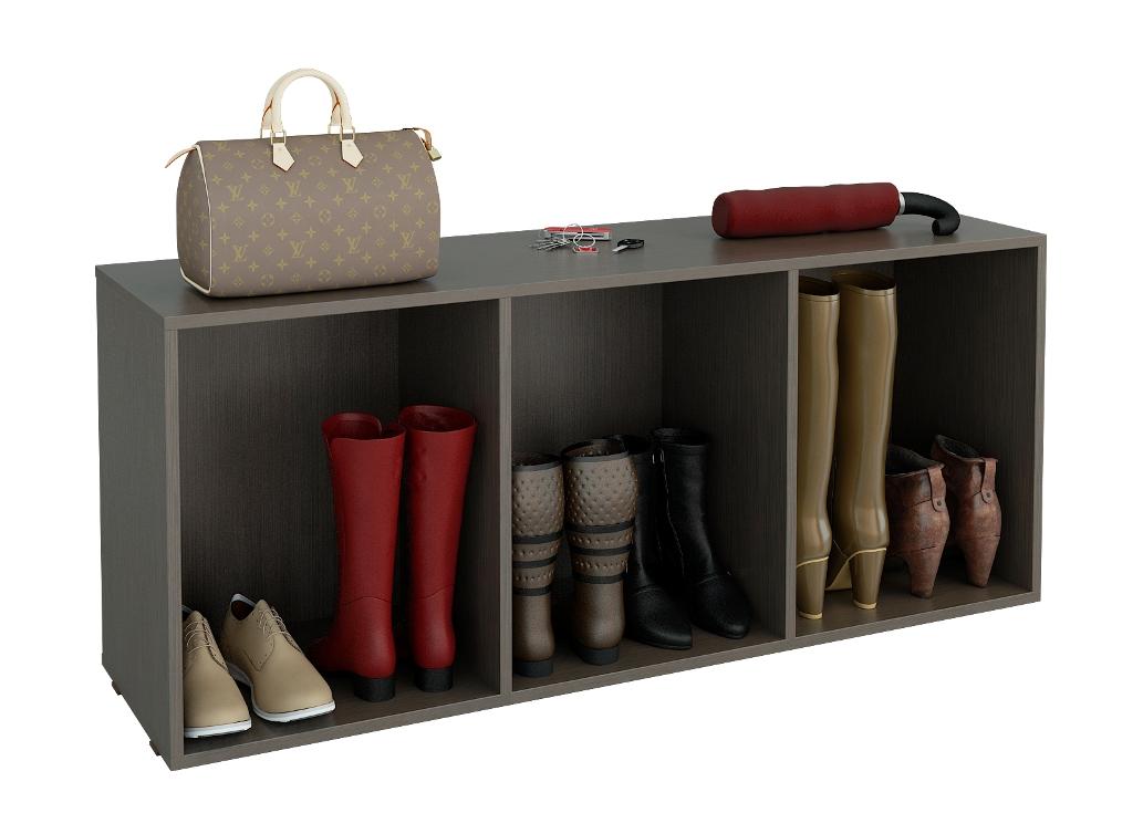 Тумба для обуви Лана ПОЛ-3СТумбы для обуви<br>размер: 1264х350 В532<br><br>Материалы: ЛДСП, кромка ПВХ<br>Полный размер (ДхГхВ): 1264х350х532<br>Вес товара (кг): 20,5<br>Примечание: Полки и двери возможно установить дополнительно, в стоимость не входят<br>Изготовление и доставка: 5-7 дней<br>Количество упаковок: 1 шт.<br>Условия доставки: Бесплатная по Москве до подъезда<br>Условие оплаты: Оплата наличными при получении товара<br>Доставка по МО (за пределами МКАД): 35 руб./км<br>Подъем на грузовом лифте: 150 руб.<br>Подъем без лифта: 150 руб./этаж (включая первый)<br>Сборка: 800 руб. Осуществляется в течение 1-2 дней после доставки<br>Гарантия: 24 месяца<br>Производство: Россия<br>Производитель: МФ Мастер