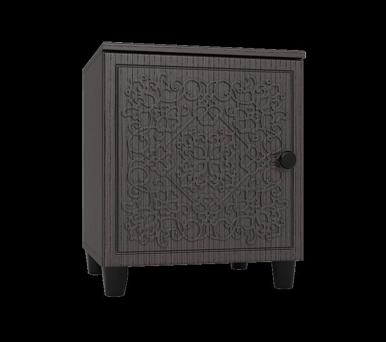 Тумба прикроватная Соня Премиум СО-15К тумба комбинированная компасс мебель соня со 18