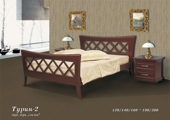 Кровать Фокин 15680671 от mebel-top.ru