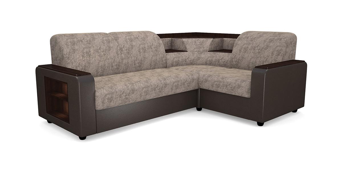 Купить со скидкой Угловой диван Виза 01 с баром