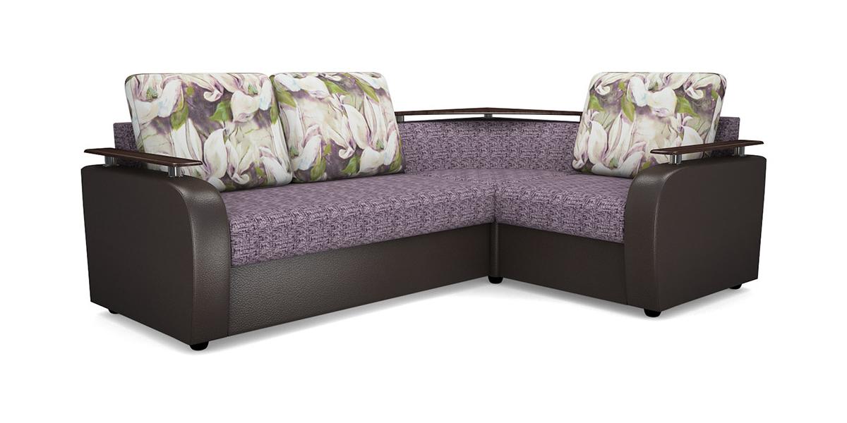 Угловой диван Виза 03 СП с баром