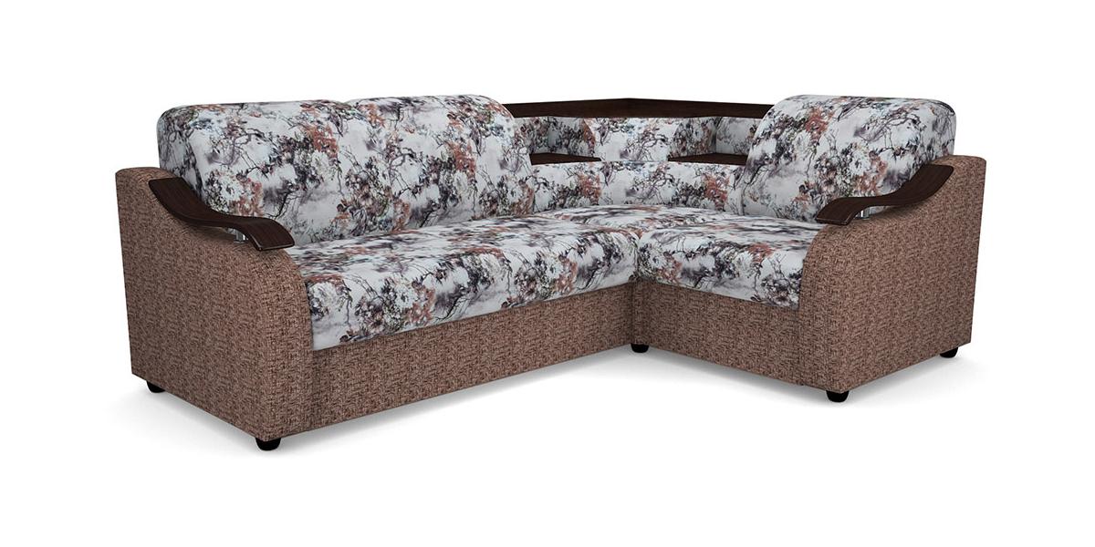 Угловой диван Виза 04 с баром