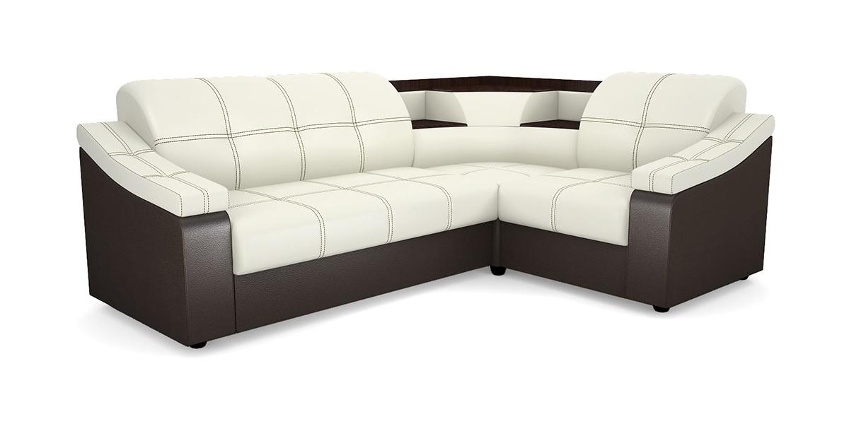 Угловой диван Виза 09 П с баром диван п образный угловой aria