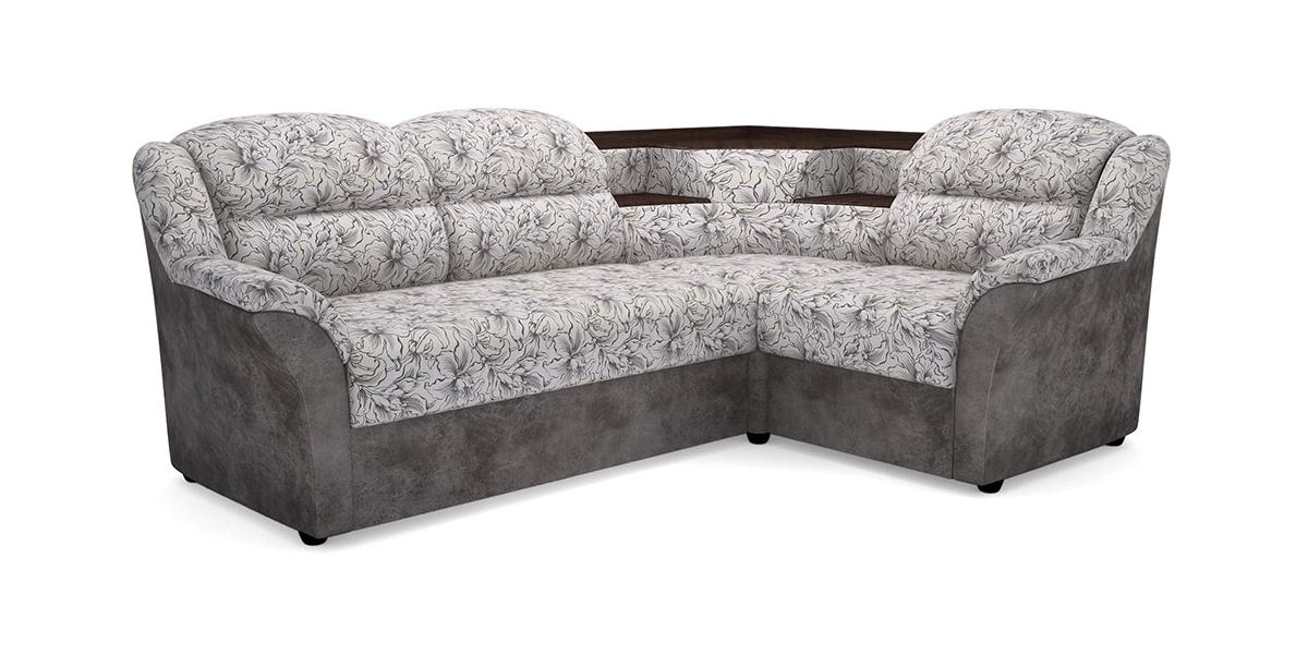 Угловой диван Виза М 02 с баром