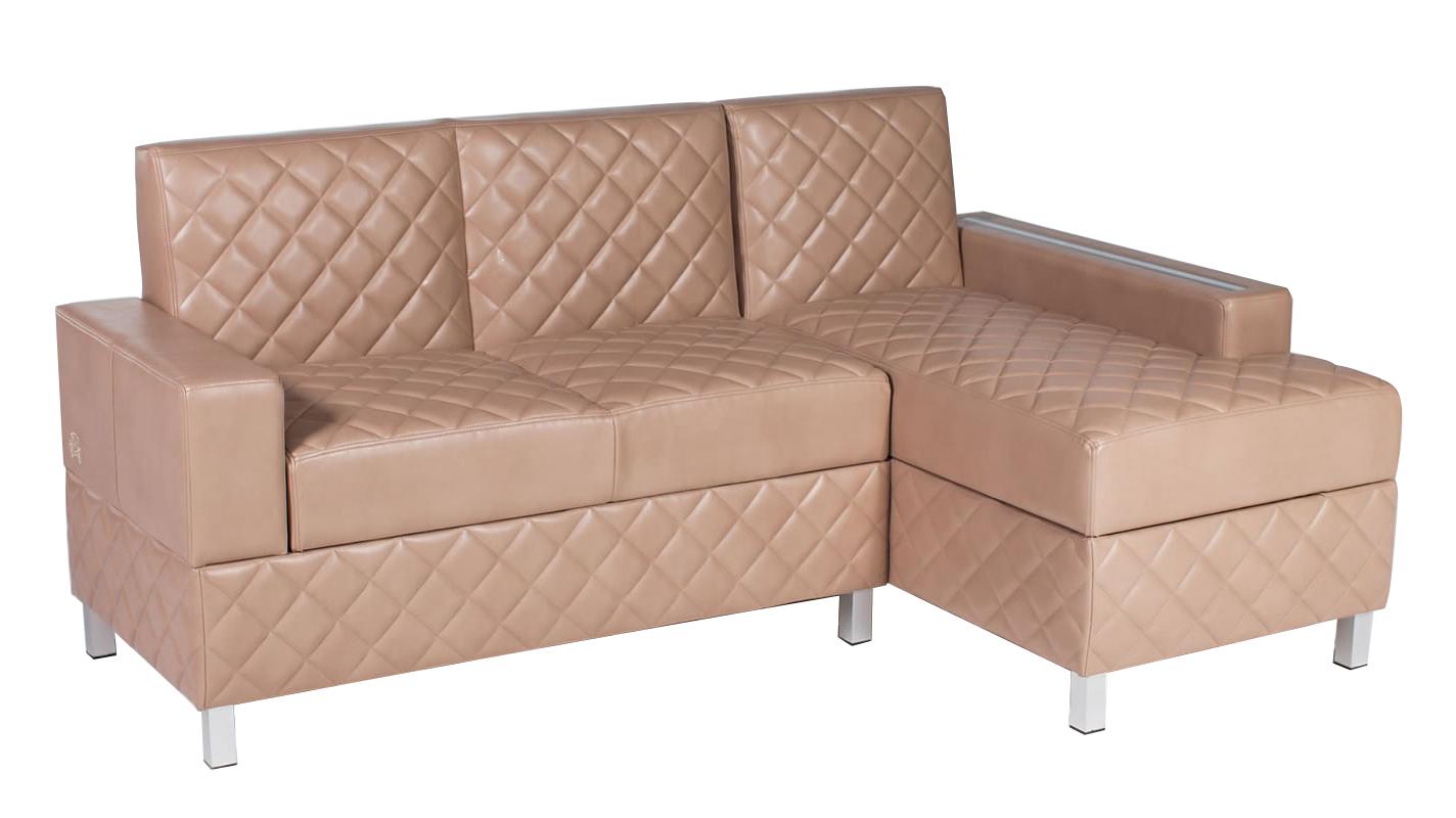 Угловой диван Кельн с ящиками