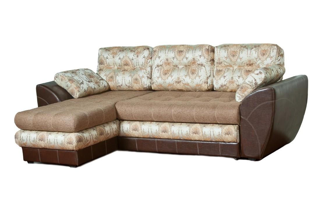 Угловой диван Премьер-1Угловые диваны<br>Размер: 269х155 (сп. место: 153х198)<br><br>Механизм: Венеция<br>Каркас: Деревянный<br>Полный размер (ДхГхВ): 269х155х80<br>Возможные размеры: 153х198<br>Высота сиденья (см): 50<br>Высота подлокотника (см): 68, ширина 32<br>Глубина сиденья (см): 88<br>Наполнитель: Пружинный блок, ППУ высокой плотности (пенополиуретан)<br>Комплектация: Ящик для белья, декоративные подушки<br>Примечание: Стоимость указана по минимальной категории ткани<br>Изготовление и доставка: 8-10 дней<br>Условия доставки: Бесплатная по Москве до подъезда<br>Условие оплаты: Оплата наличными при получении товара<br>Доставка по МО (за пределами МКАД): 30 руб./км<br>Доставка в пределах ТТК: Доставка в центр Москвы осуществляется ночью, с 22.00 до 6.00 утра<br>Подъем на грузовом лифте: 700 руб.<br>Подъем без лифта: 350 руб./этаж<br>Сборка: 300 руб.<br>Гарантия: 12 месяцев<br>Производство: Россия<br>Производитель: Mebelus
