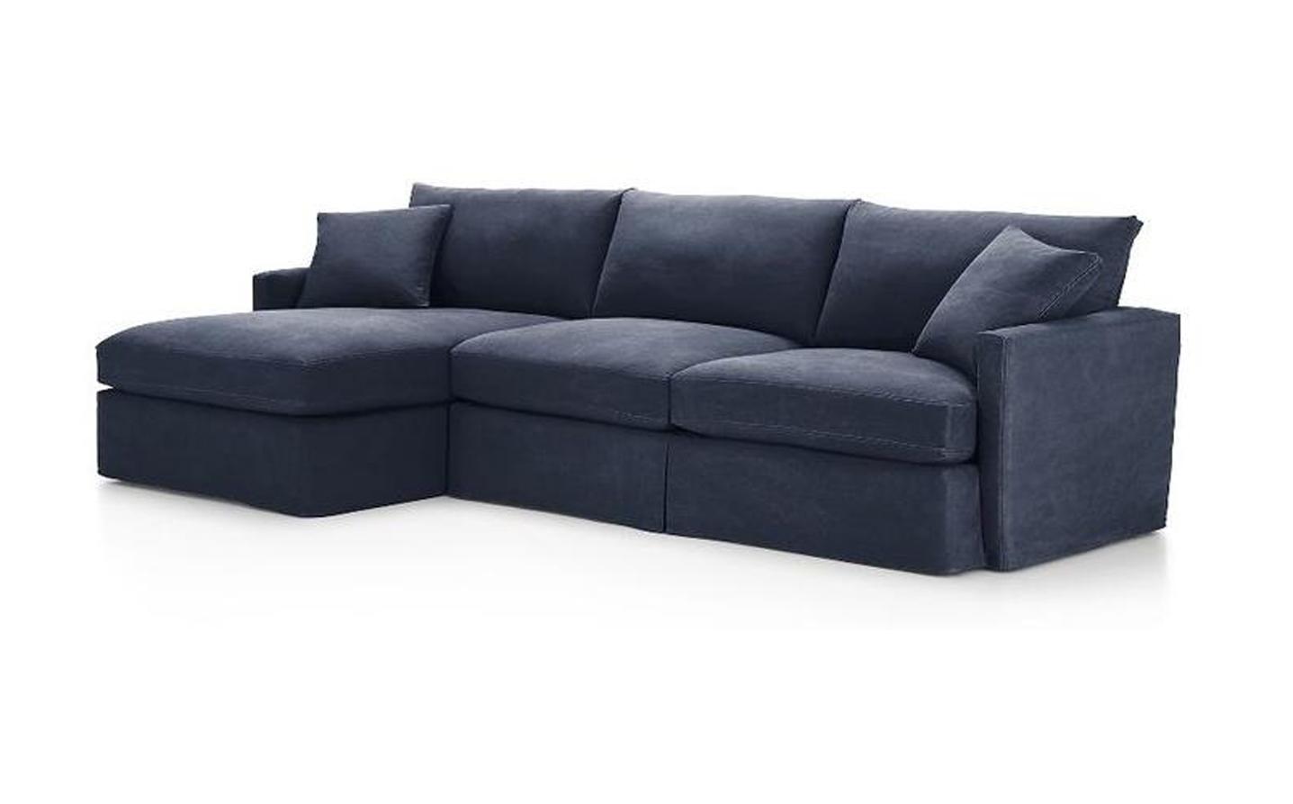Угловой диван Марсия с оттоманкой