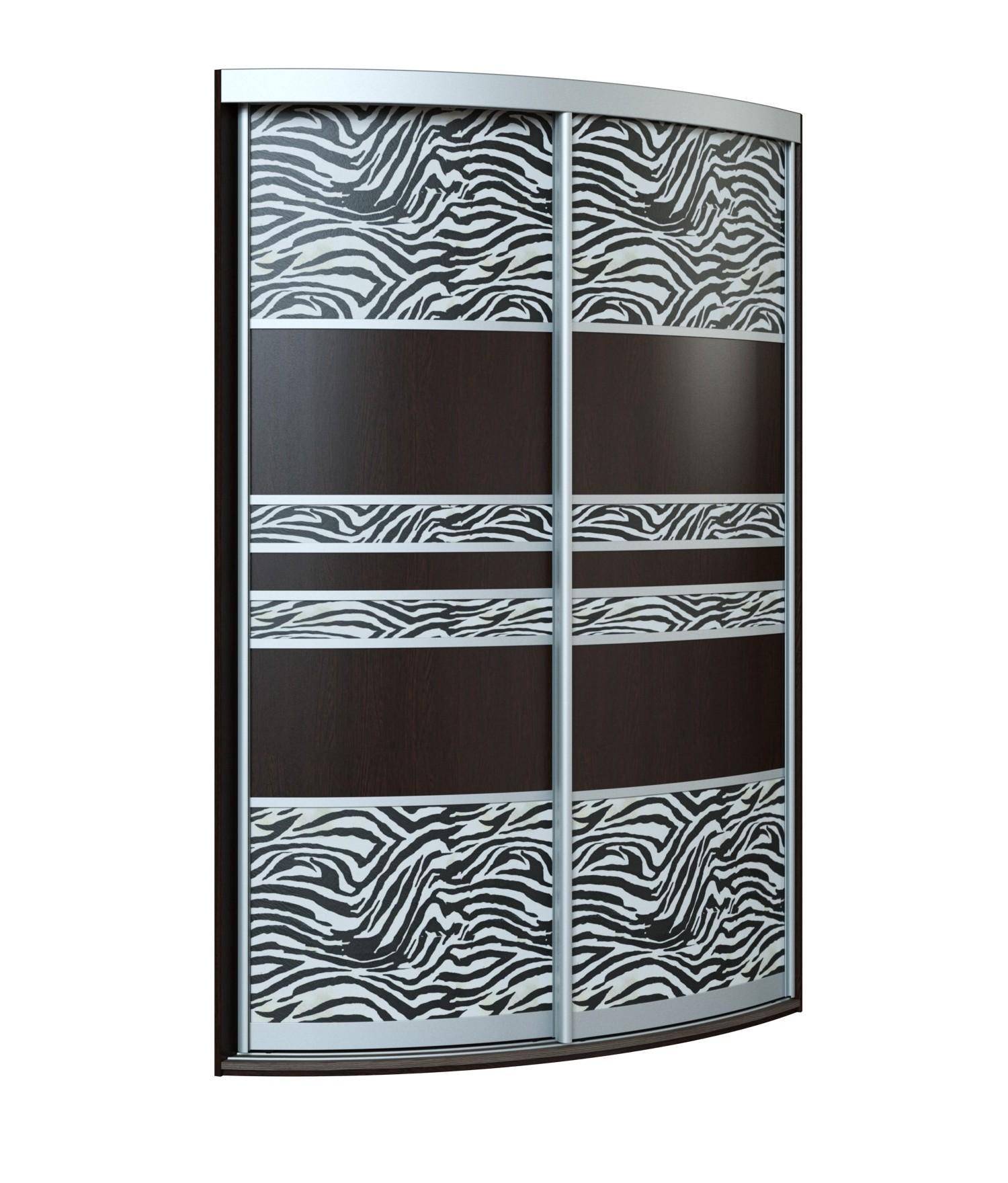 Угловой радиусный шкаф-купе Севилья 2-3 радиусный шкаф купе мебелайн 7