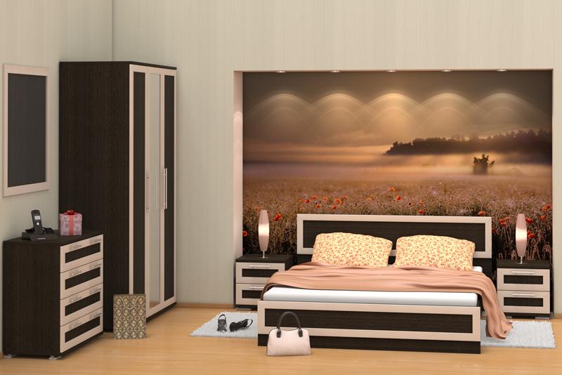 Спальня Верона стенка верона 2