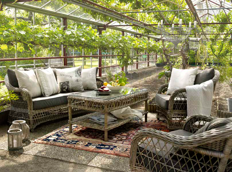 Комплект плетеной мебели Victoria Brafab