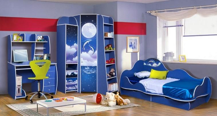 Детская комната Дельфин Комплектация №1 advesta детская комната advesta princess 6 предметов