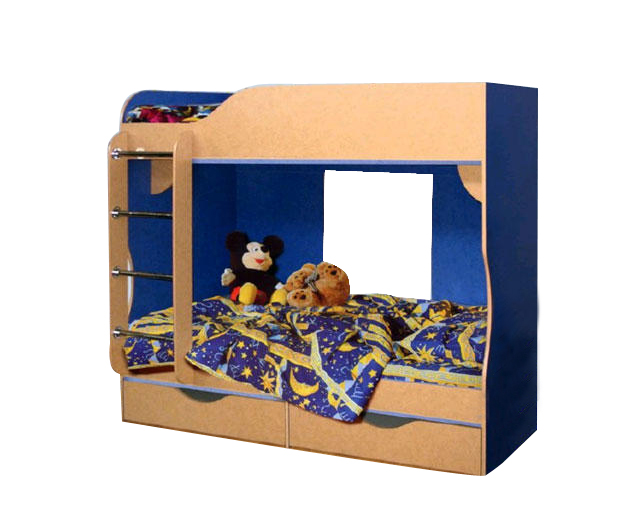 Кровать двухъярусная 03 0253