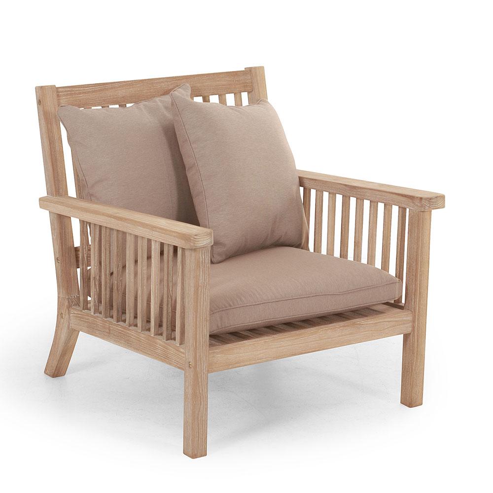 Кресло из тика Cecilia