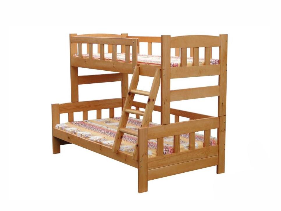 Детская двухъярусная кроватка Ника