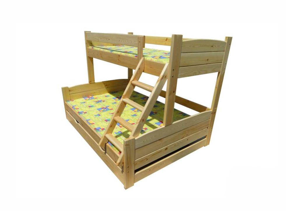 Детская двухъярусная кроватка Ника 2