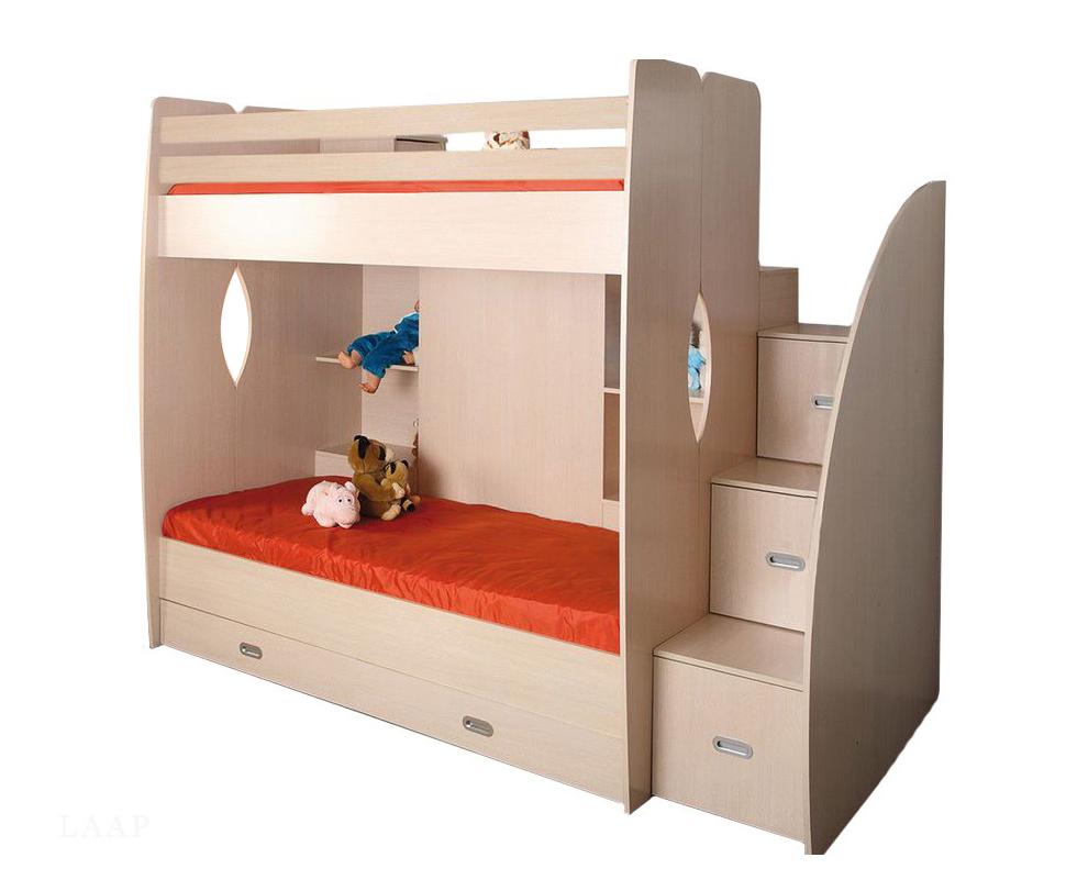 Кровать двухъярусная-Д1