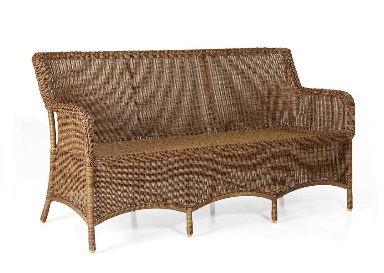Плетеный диван Lilly natur фото