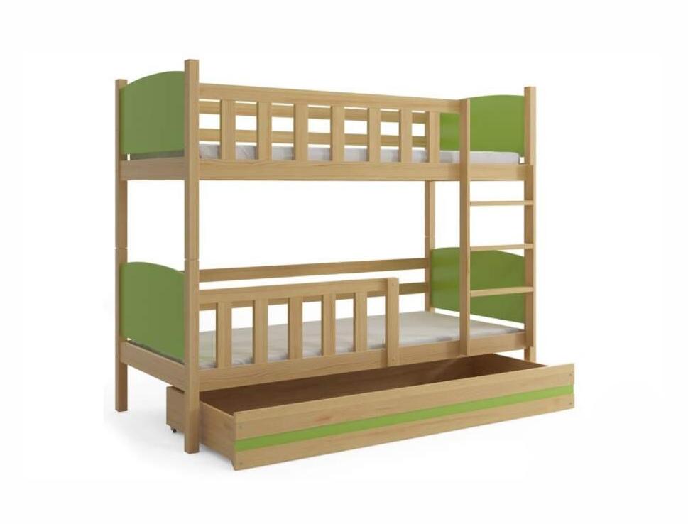 Детская двухъярусная кровать Каролина
