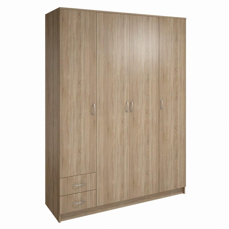 Шкаф распашной ШР-4-3 фото