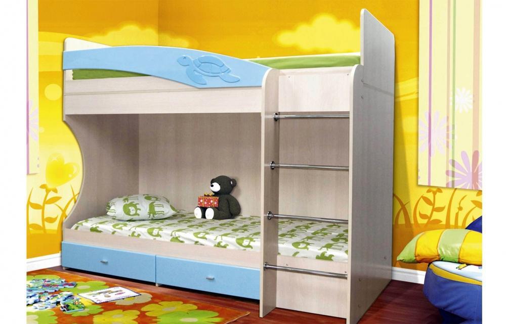 Детская Двухъярусная кровать Адель-1
