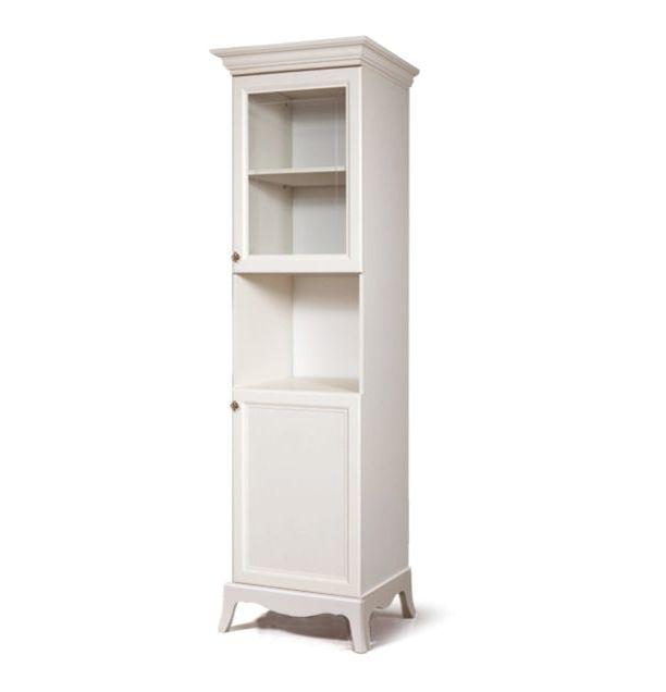 Шкаф однодверный Амели (малая дверь и витраж) фото