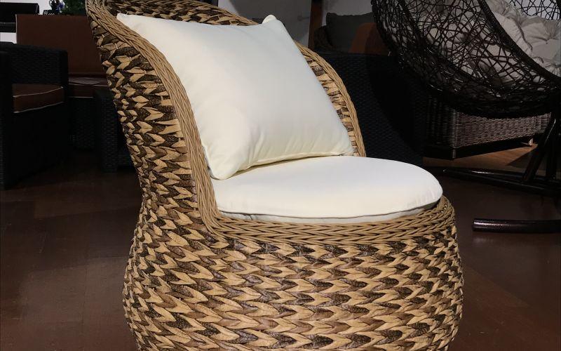 Кресло из искусственного ротанга ANTIBES